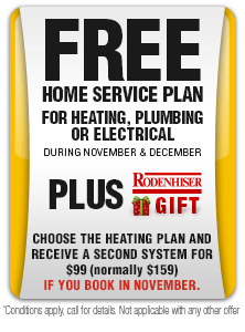 Free One Year Home Service System Plan